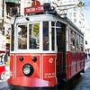 Tram near Taksim