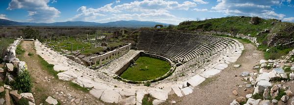 Aphrodisias Theatre Panorama