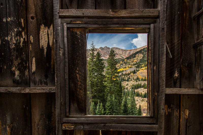 The Miner's View near Winfield Colorado