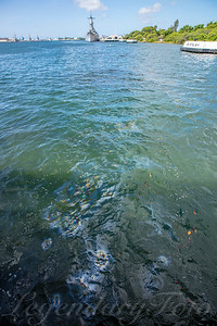 USS Arizona Oil Spill