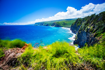 The Big Island Coastline