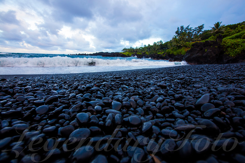 Picture of Black Sands Beach