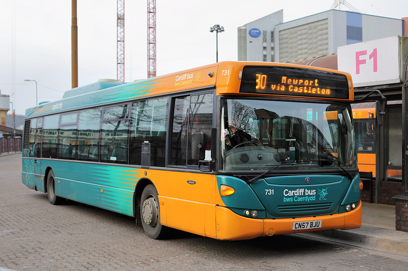 731 CN57BJU, Cardiff 2/2/2015