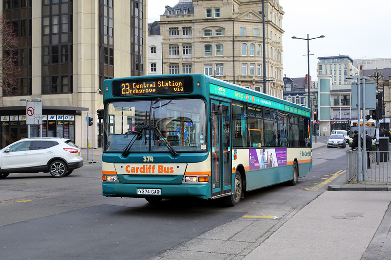 374 Y374GAX, Cardiff 2/2/2015