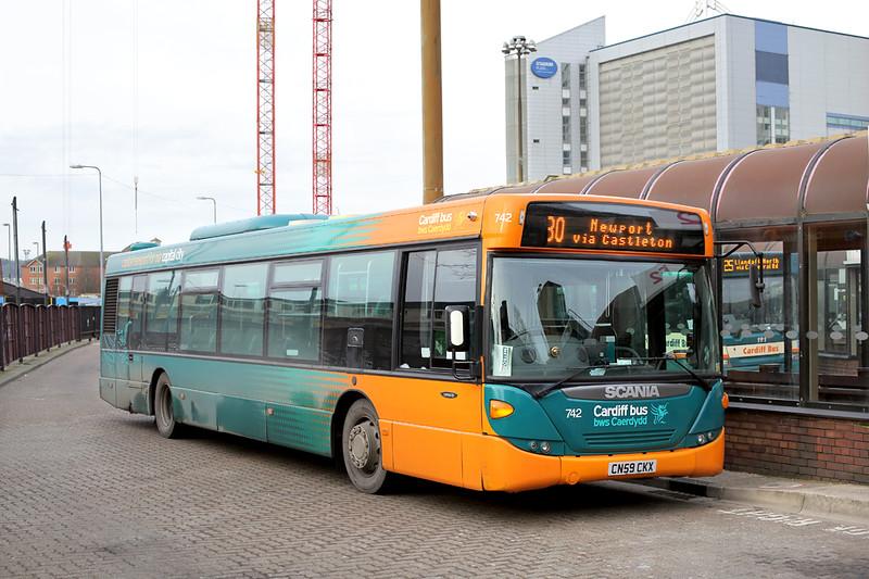 742 CN59CKX, Cardiff 2/2/2015