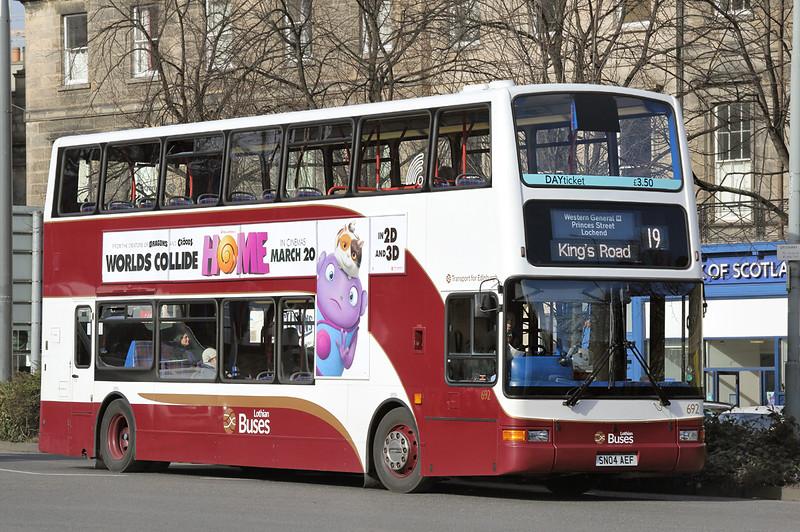 692 SN04AEF, Edinburgh 5/3/2015