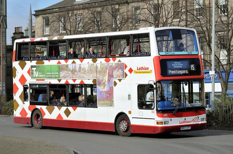 685 SN04ADX, Edinburgh 5/3/2015