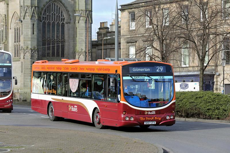 145 SK07CFX, Edinburgh 5/3/2015