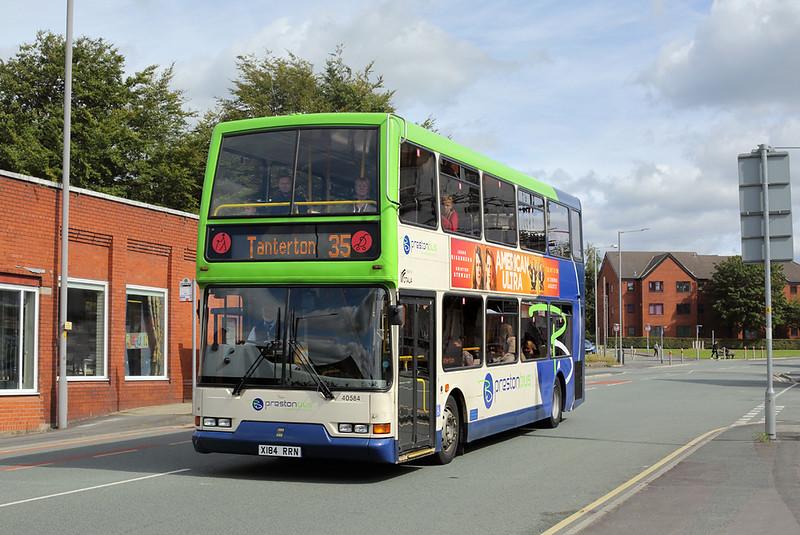 40584 X184RRN, Preston 5/9/2015