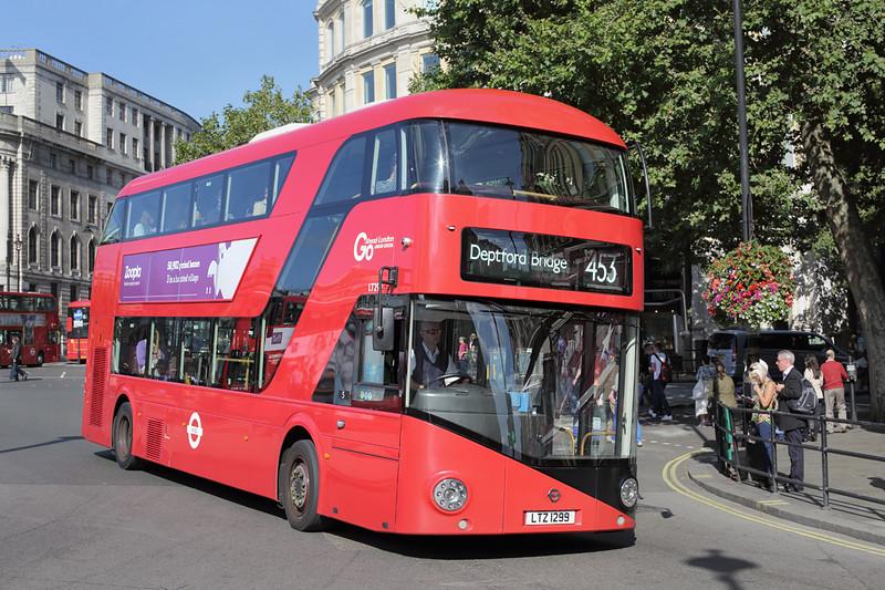LT299 LTZ1299, Trafalgar Square 6/9/2015
