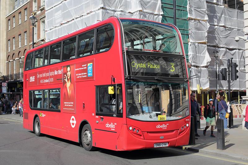 2426 SN61CYH, Whitehall 6/9/2015