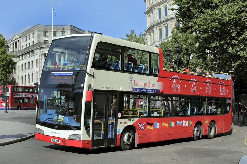 VXE731 YJ11TVP, Trafalgar Square 6/9/2015