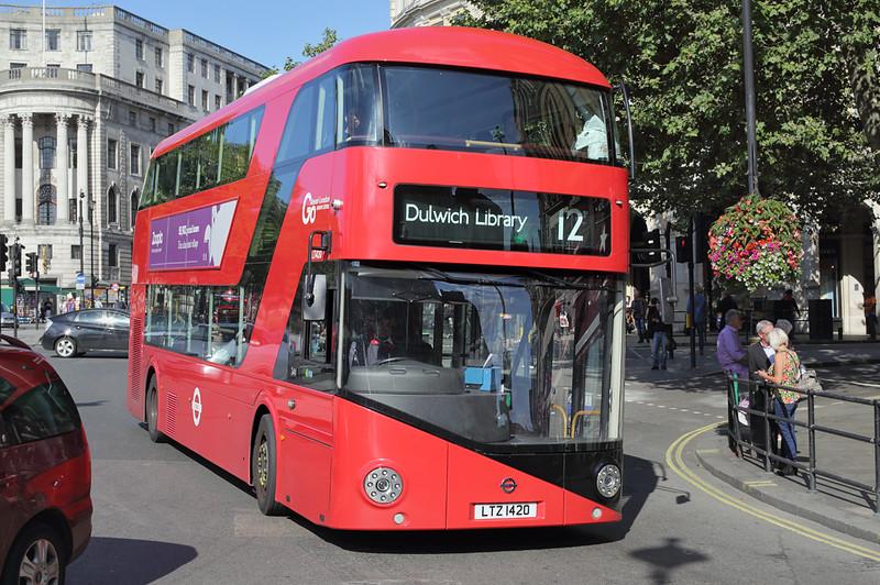 LT420 LTZ1420, Trafalgar Square 6/9/2015