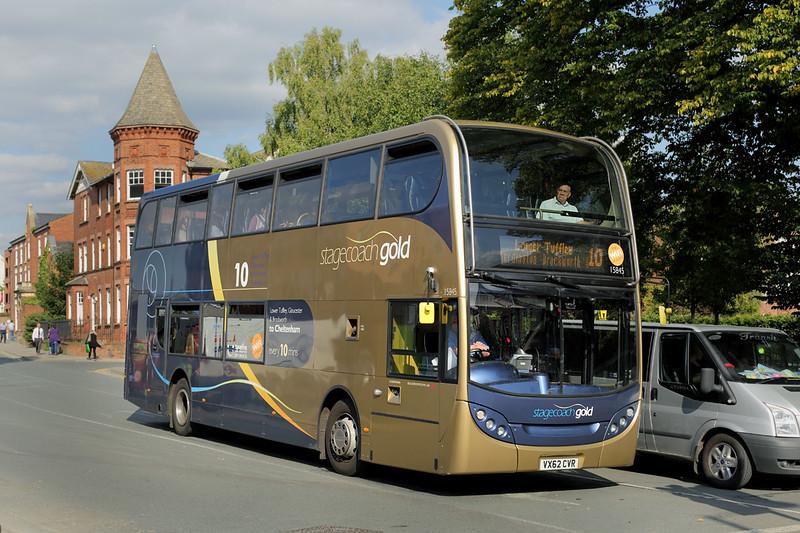 15845 VX62CVR, Gloucester 7/9/2015