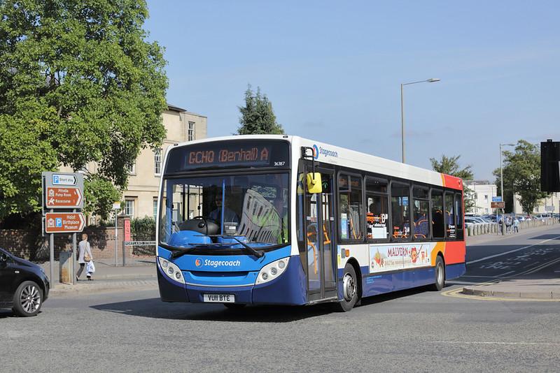 36387 VU11BTE, Cheltenham Spa 7/9/2015