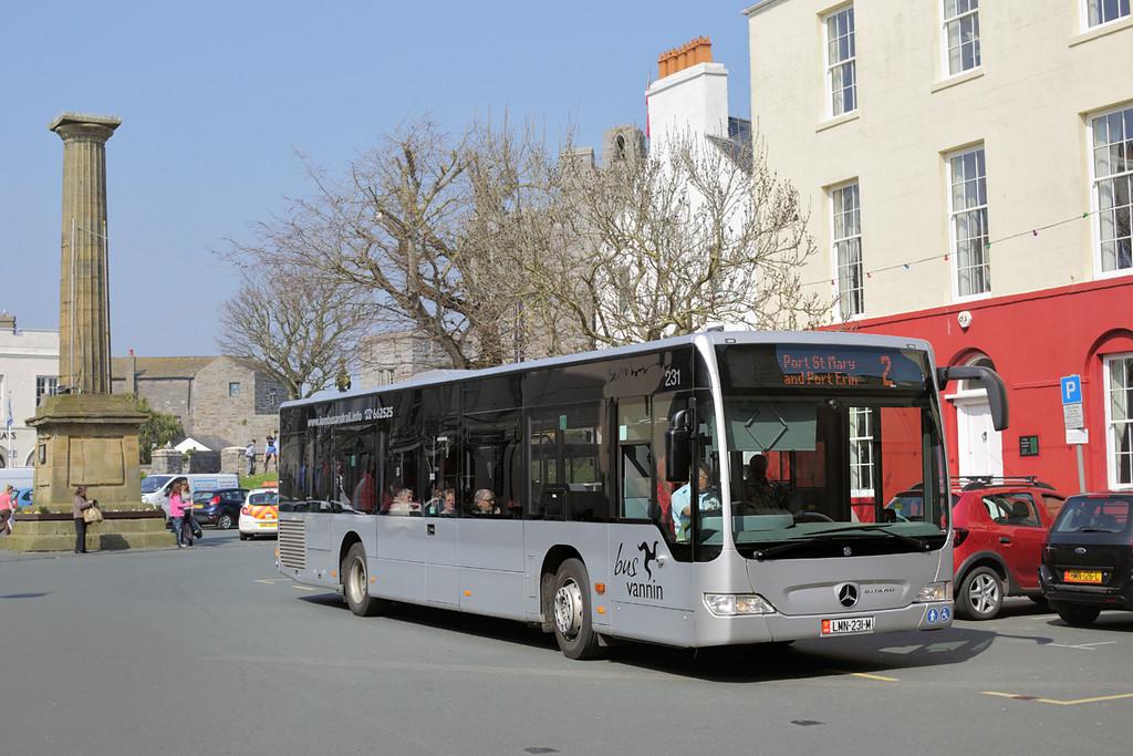 231 LMN231M, Castletown 9/4/2015