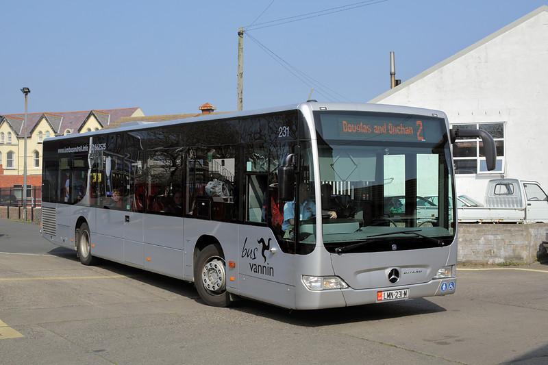 231 LMN231M, Port Erin 9/4/2015