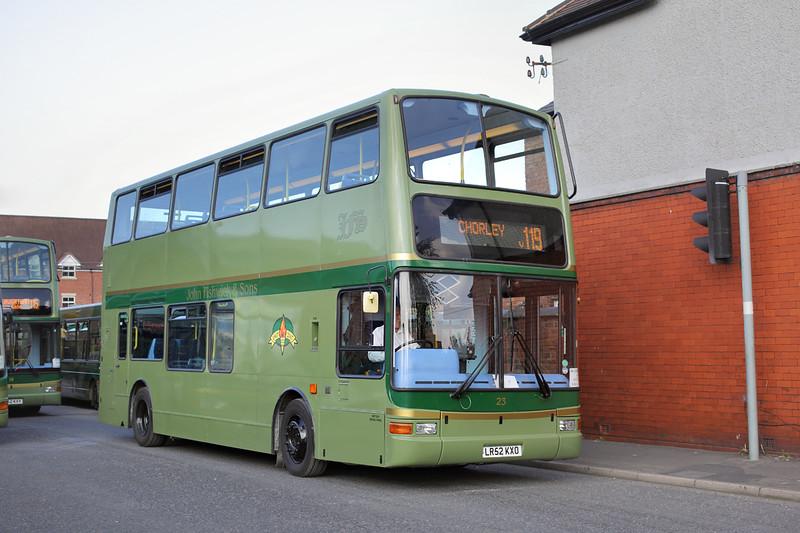 23 LR52KXO, Leyland 8/9/2015