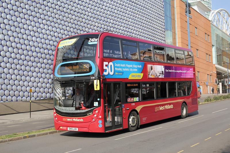 6138 SN15LHH, Birmingham 9/7/2015