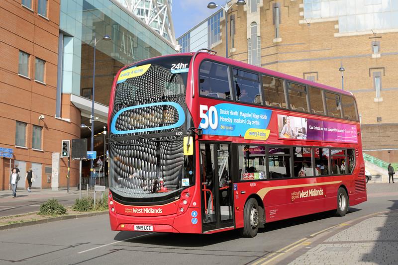 6130 SN15LGZ, Birmingham 9/7/2015