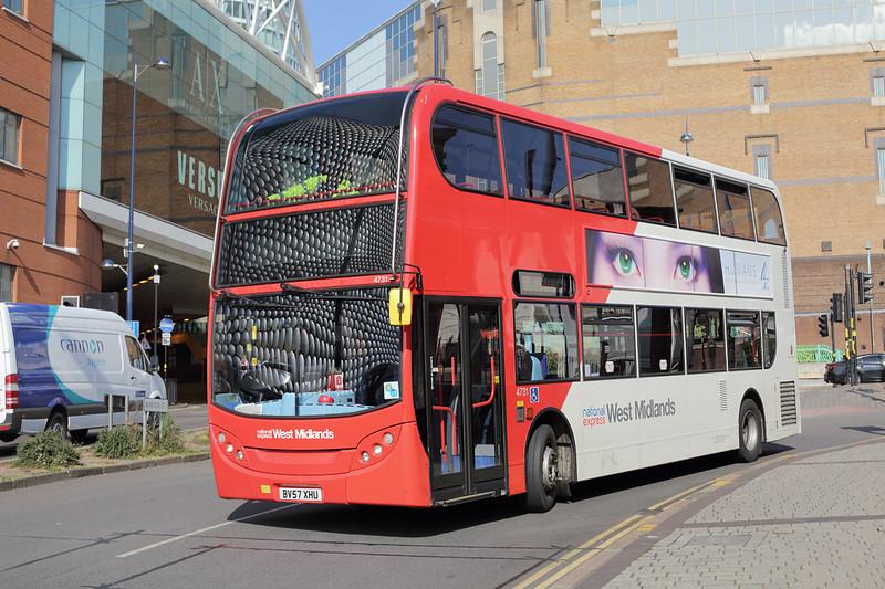 4731 BV57XHU, Birmingham 9/7/2015