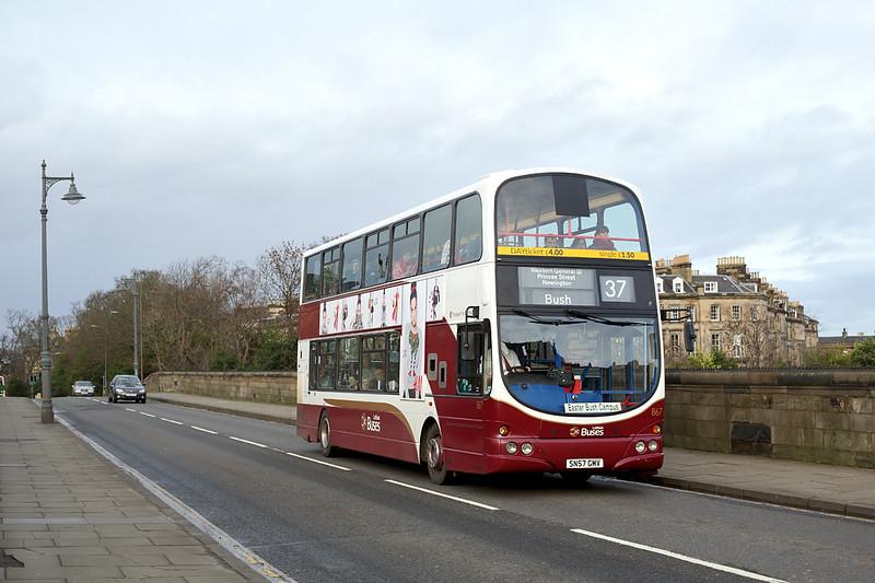 867 SN57GMV, Edinburgh 9/12/2015