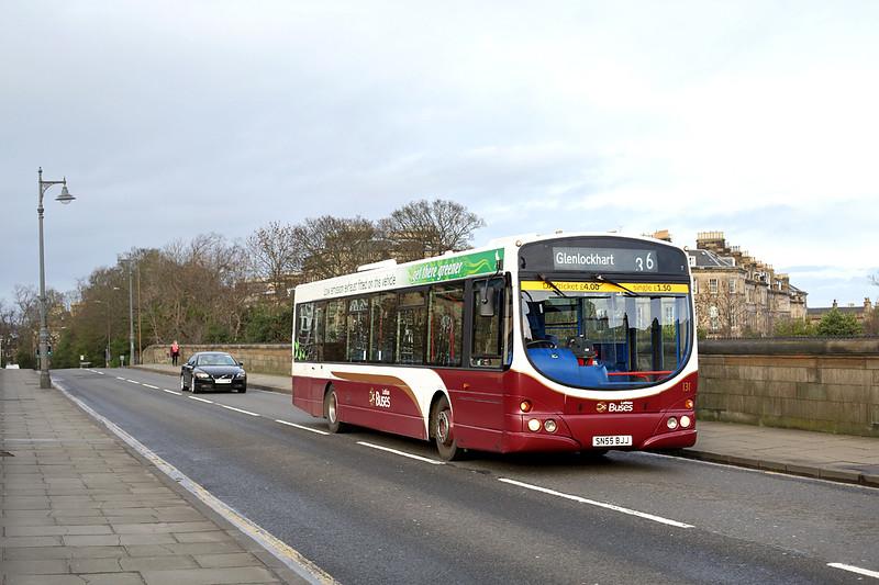 131 SN55BJJ, Edinburgh 9/12/2015