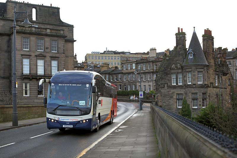 54108 SF61EYO, Edinburgh 9/12/2015