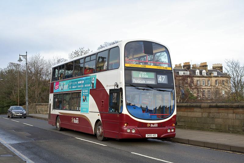 791 SN56AEO, Edinburgh 9/12/2015