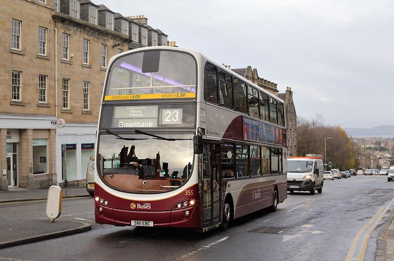 355 SN11EBC, Edinburgh 9/12/2015