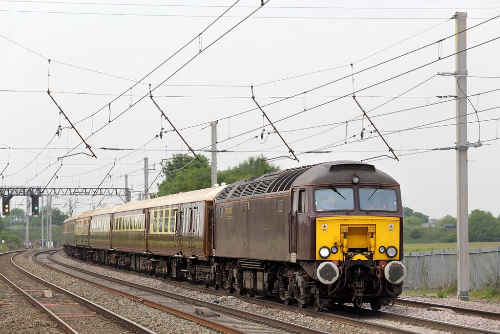 57315 Winwick Junction 12/6/2015<br /> 5Z75 1140 Carnforth-Derby