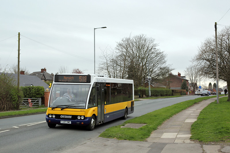 20724 YJ57XWD, Leigh 13/4/2015