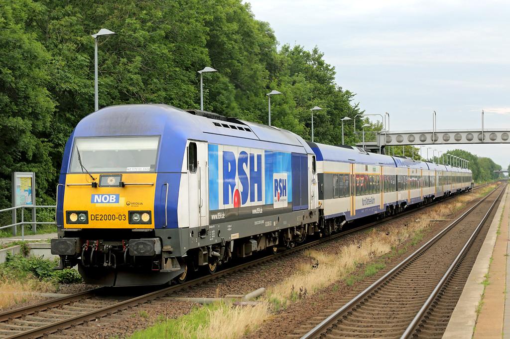DE2000-03 Morsum 13/7/2015<br /> NOB81720 1540 Hamburg Altona-Westerland