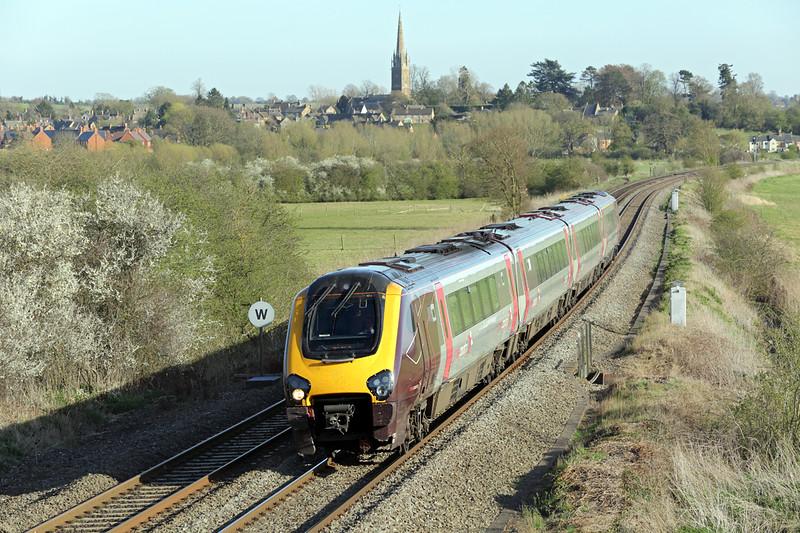 220025 Kings Sutton 14/4/2015<br /> 1E60 1546 Southampton Central-Newcastle