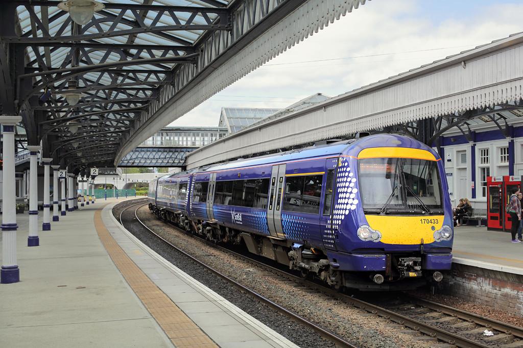 170433 Stirling 14/5/2015<br /> 1T22 1240 Aberdeen-Glasgow Queen Street