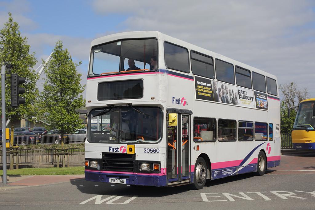 30560 P190TGD, Stirling 14/5/2015
