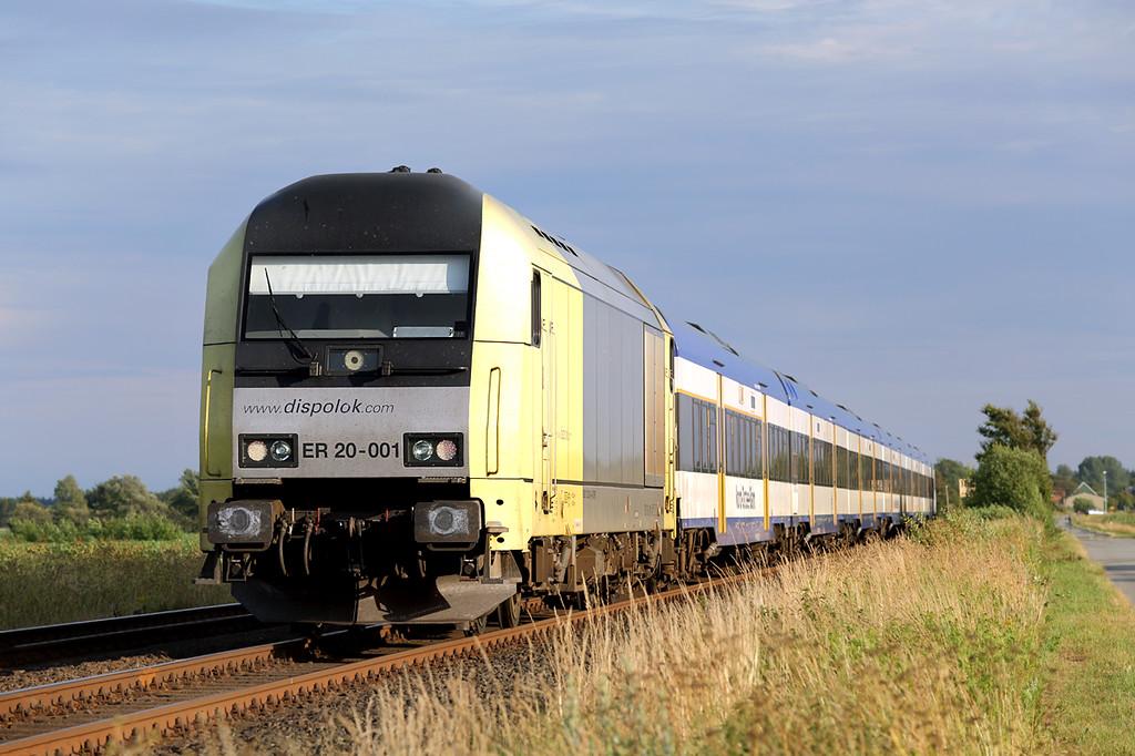 ER20-001 Langehorn 14/7/2015<br /> NOB81821 1852 Westerland-Husum