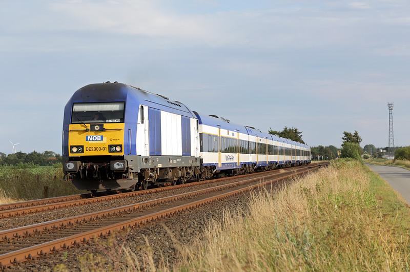 DE2000-01 Langenhorn 14/7/2015<br /> NOB81722 1853 Husum-Westerland