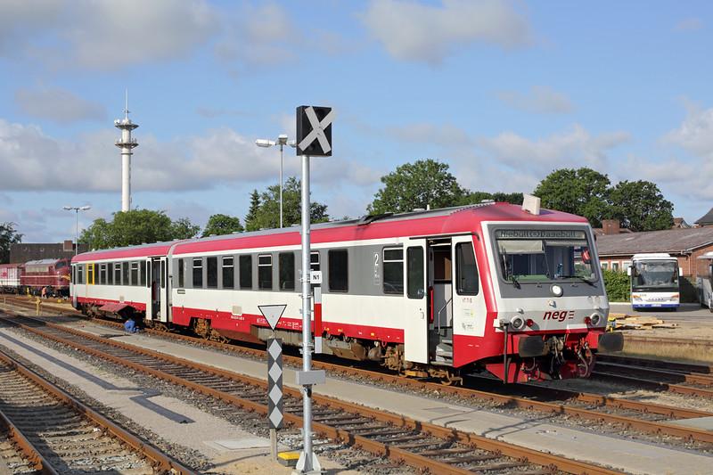 VT71 Niebüll 15/7/2015