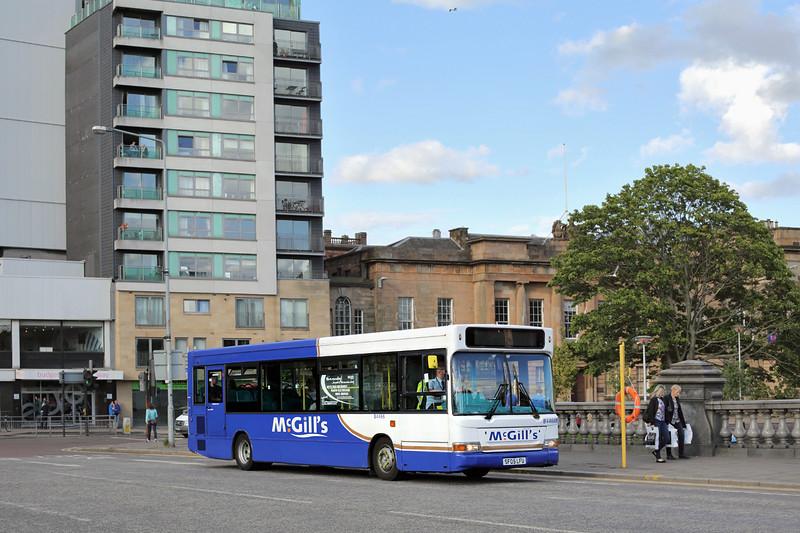 4466 SF05LFU, Glasgow 15/8/2015