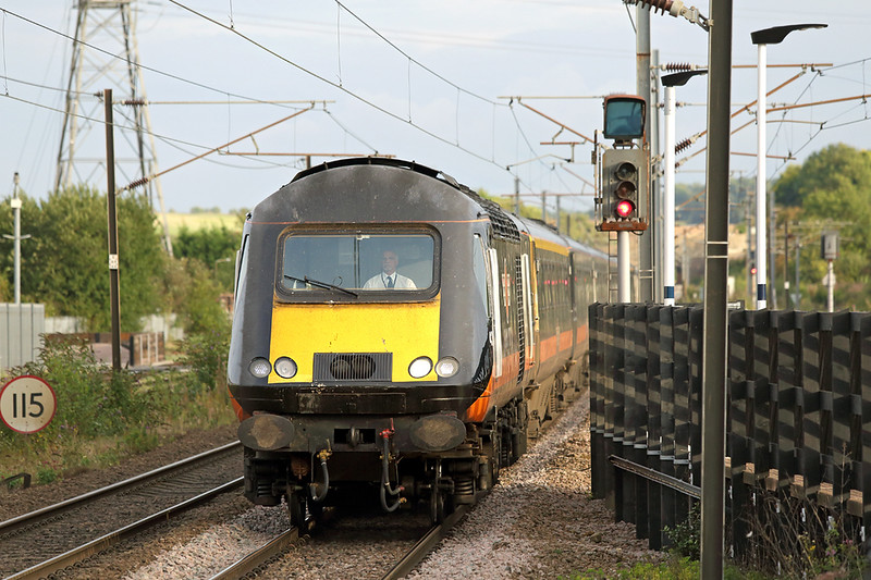 43465 Grantham 15/9/2015<br /> 1N94 1650 London Kings Cross-Sunderland