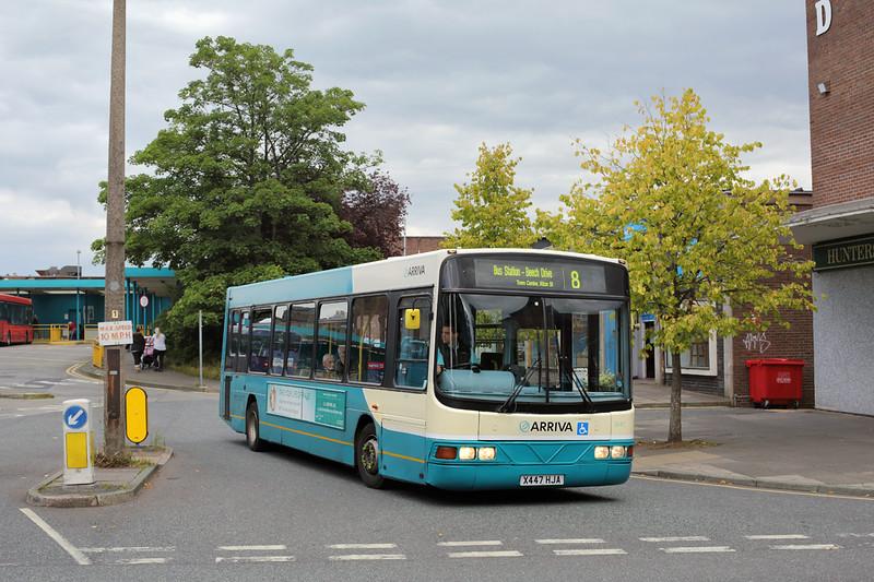 2447 X447HJA, Crewe 17/9/2015