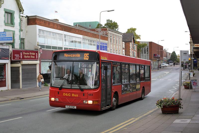 123 YJ51ENC, Crewe 17/9/2015