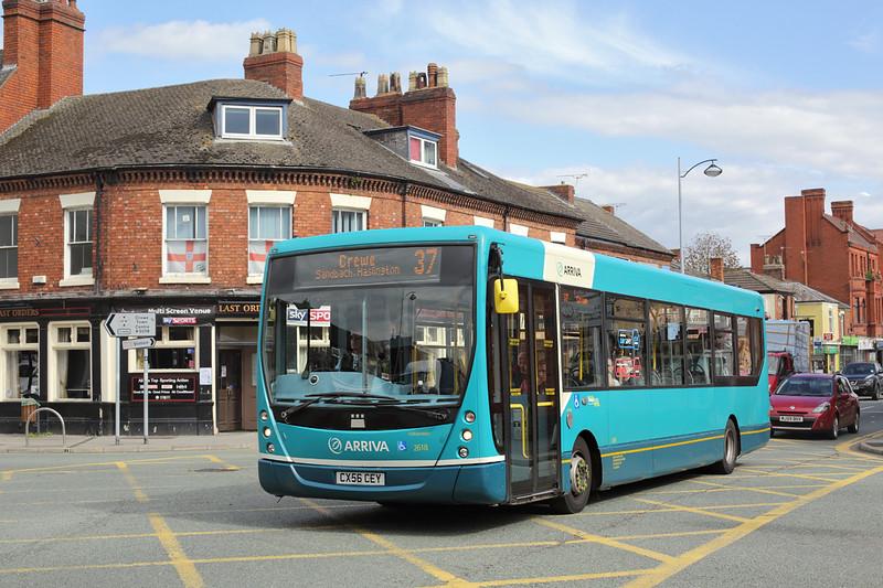 2618 CX56CEY, Crewe 17/9/2015