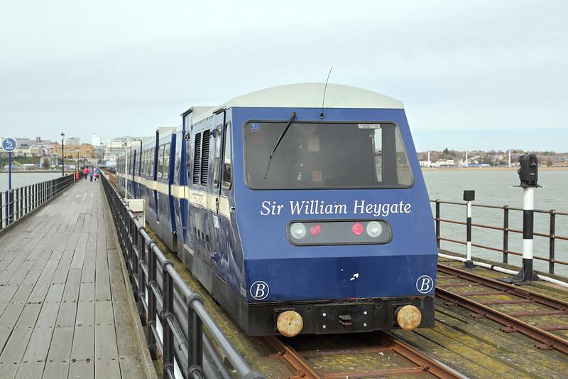'Sir William Heygate', Southend Pier 17/4/2015
