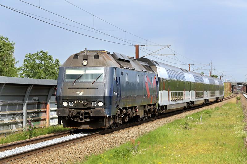 ME1530 Trekroner 17/7/2015<br /> RE1549 1544 Østerport St-Kalundborg St