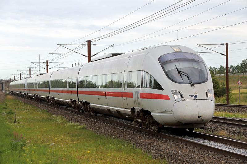 605503 Trekroner 17/7/2015<br /> ICE32 1504 österport St-Hamburg Hbf