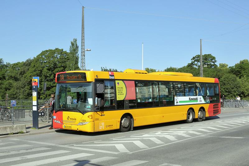 1204 AA72-235, Østerport 17/7/2015