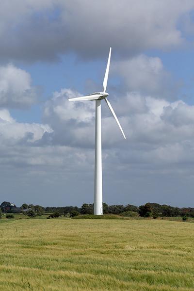 Wind Turbine near Tjæreborg, Denmark, 18/7/2015