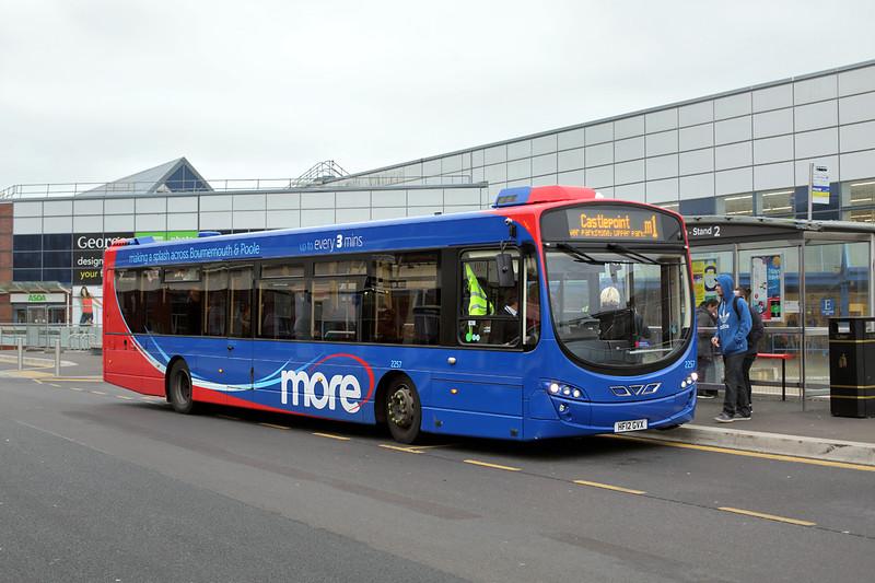 2257 HF12GVX, Bournemouth 18/11/2015